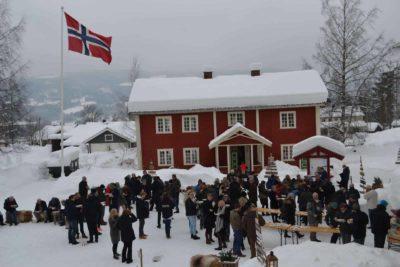 Lands Museum vinter