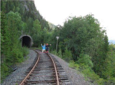 Dresinsykling tunell